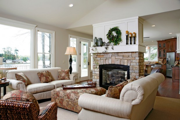 20 Great Fireplace Design Ideas that Look so Lovely (18)