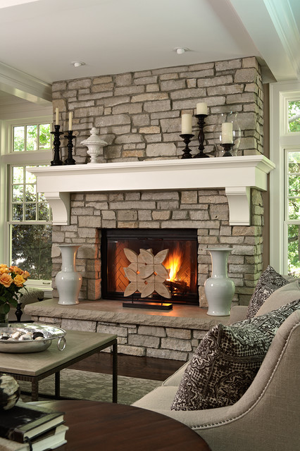 20 Great Fireplace Design Ideas that Look so Lovely (19)
