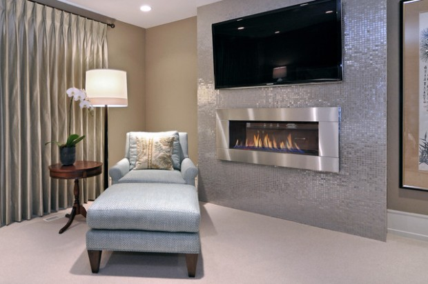 20 Great Fireplace Design Ideas that Look so Lovely (2)