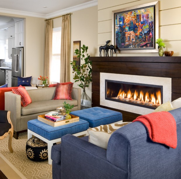 20 Great Fireplace Design Ideas that Look so Lovely (20)
