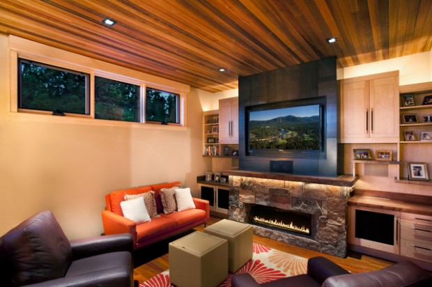 20 Great Fireplace Design Ideas that Look so Lovely (4)
