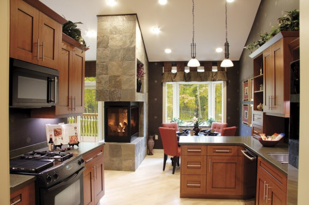 20 Great Fireplace Design Ideas that Look so Lovely (6)