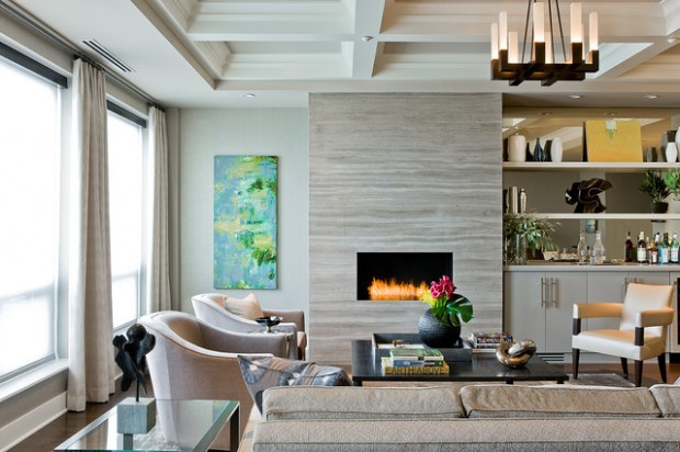 20 Great Fireplace Design Ideas that Look so Lovely (7)