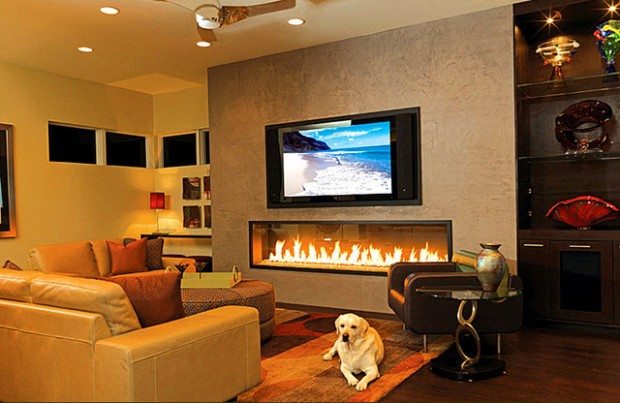 20 Great Fireplace Design Ideas that Look so Lovely (8)