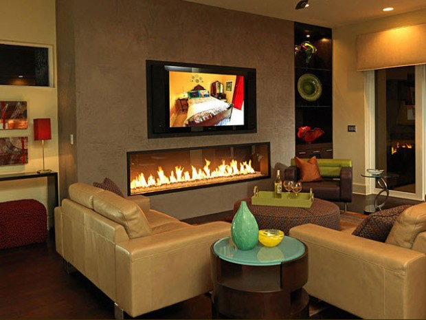 20 Great Fireplace Design Ideas that Look so Lovely (9)