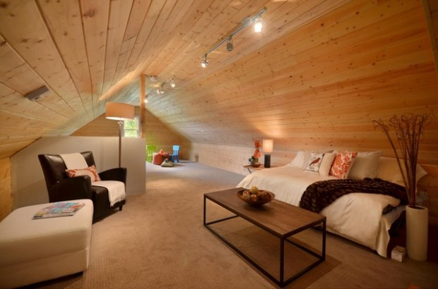18 Great Ideas For How To Use Your Attic Space Style