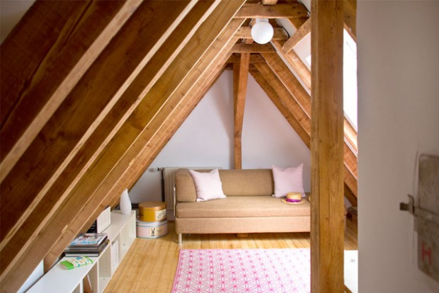 20 Great Ideas for How to Use Your Attic Space (14)