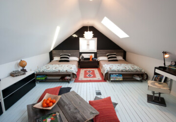 18 Great Ideas for How to Use Your Attic Space - attic space, Attic Room, attic