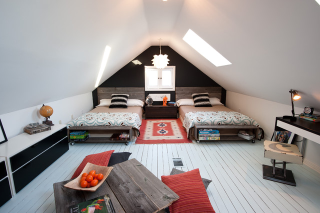 & 18 Great Ideas for How to Use Your Attic Space - Style Motivation