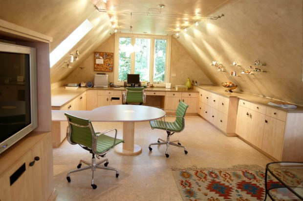 20 Great Ideas for How to Use Your Attic Space (7)