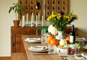 20 Great Table Decoration Ideas for Thanksgiving Holiday - thanksgiving table decoration, thanksgiving decorations, Thanksgiving, table decoration