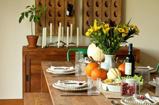 20 Great Table Decoration Ideas for Thanksgiving Holiday (3)