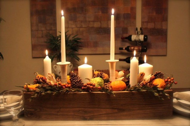 20 Great Table Decoration Ideas for Thanksgiving Holiday (6)