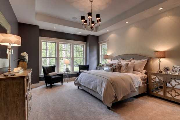 20 master bedroom design ideas in romantic style style for Pictures of master bedroom designs