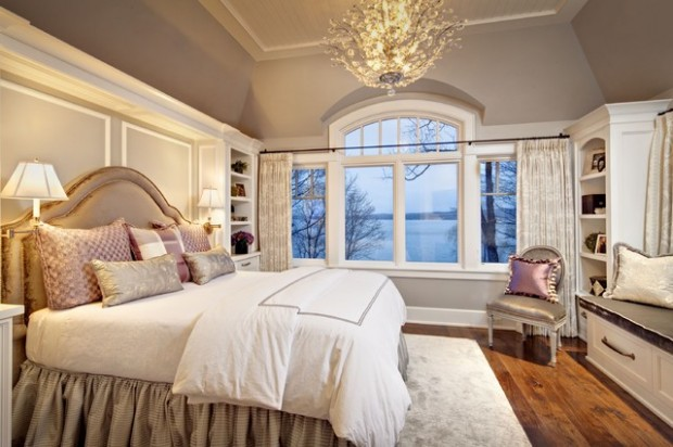 20 master bedroom design ideas in romantic style style for Bedroom elegant designs