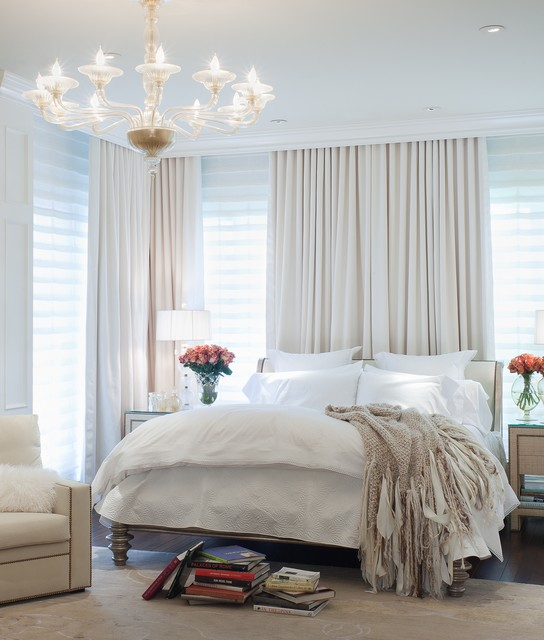 20 Master Bedroom Design Ideas in Romantic Style - Style ... on Master Bedroom Curtains  id=32568