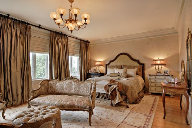 20 Master Bedroom Design Ideas in Romantic Style - Style