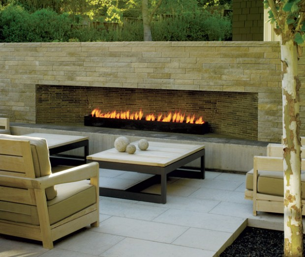 19 spectacular fireplaces design ideas for your outdoor area style motivation - Cool contemporary fireplace design ideas adding warmth in style ...