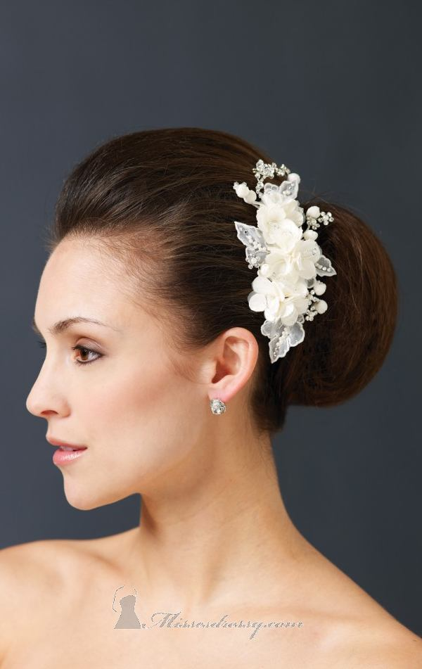 21 Adorable Hair Accessories for Perfect Bridal Hairstyle (10)