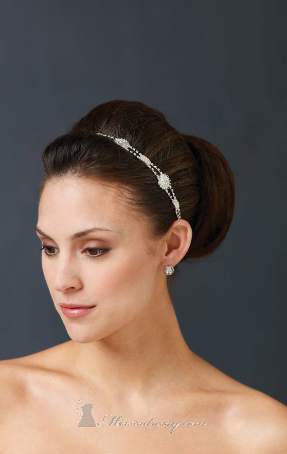 21 Adorable Hair Accessories for Perfect Bridal Hairstyle (11)