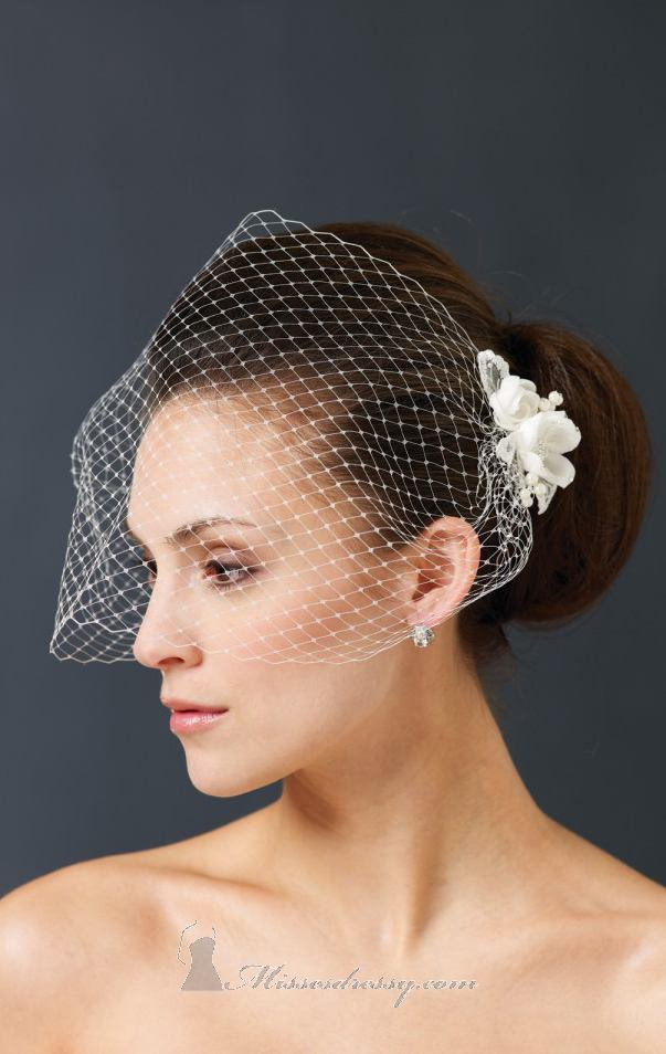 21 Adorable Hair Accessories for Perfect Bridal Hairstyle (12)