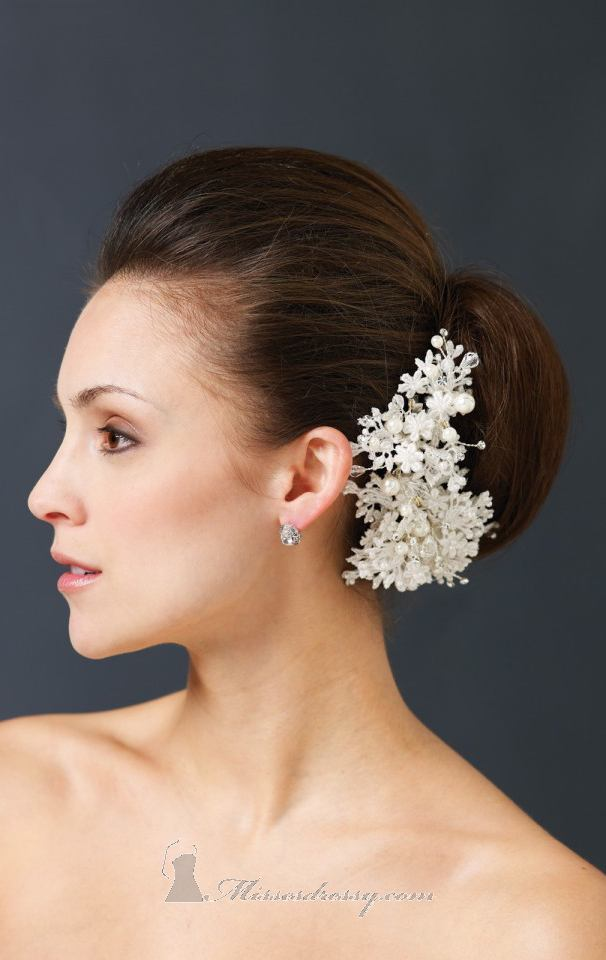21 Adorable Hair Accessories for Perfect Bridal Hairstyle (13)