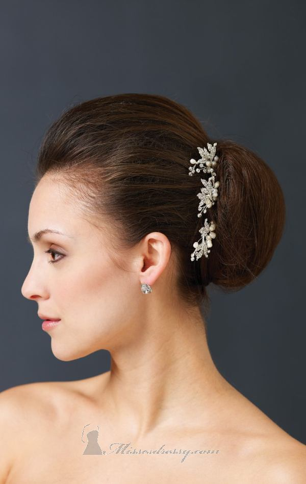 21 Adorable Hair Accessories for Perfect Bridal Hairstyle (15)