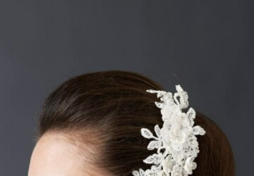20 Adorable Hair Accessories for Perfect Bridal Hairstyle - weddings, Wedding Dresses, wedding, Hairstyles, hair accessories, bridal accessories, bridal