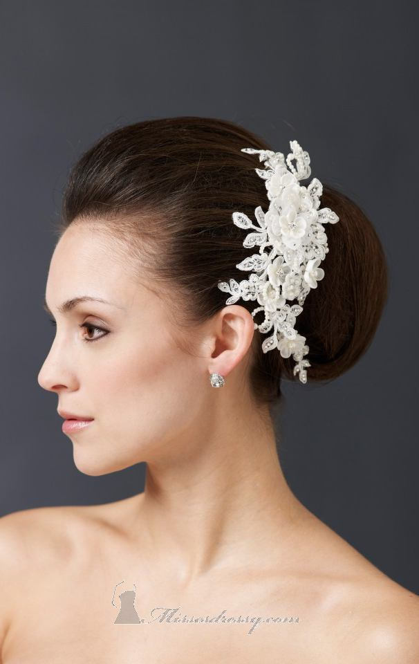 21 Adorable Hair Accessories for Perfect Bridal Hairstyle (19)