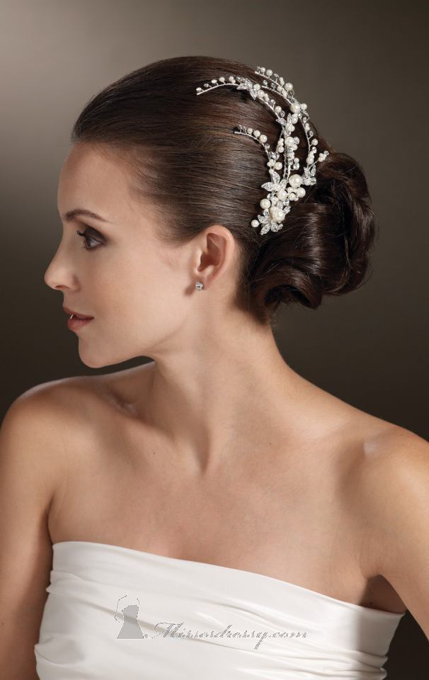 21 Adorable Hair Accessories for Perfect Bridal Hairstyle (3)