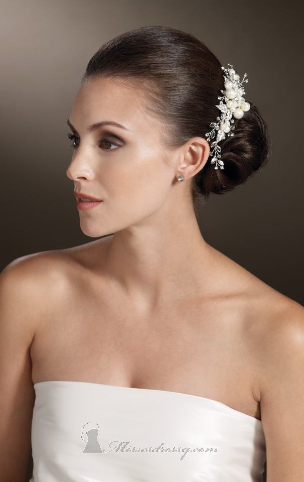 21 Adorable Hair Accessories for Perfect Bridal Hairstyle (4)