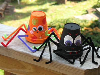 21 creative and fun diy halloween crafts ideas for kids - Diy Halloween Decorations For Kids