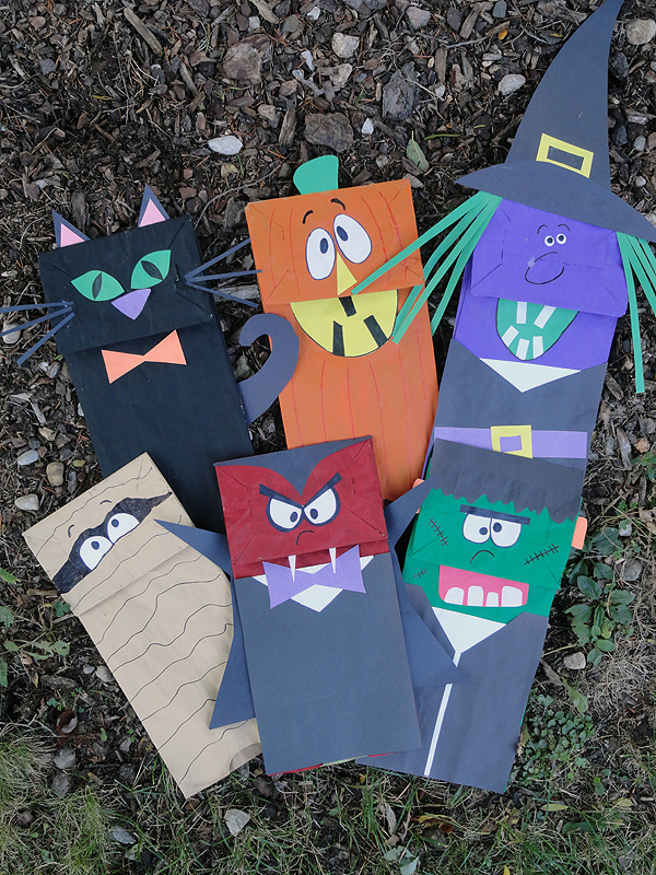 Quick and Easy Halloween Paper Crafts. Halloween crafts don't have to be hard -- or time-consuming! Get into the spooky spirit with these frightfully fun kid-friendly projects.