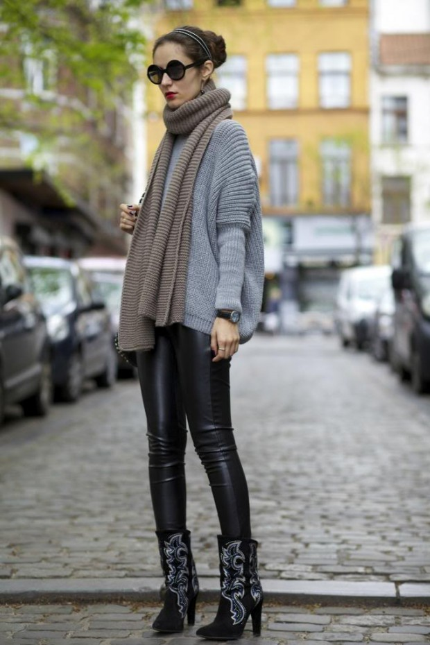 21 Stylish Fall Street Style Outfit Ideas (18)