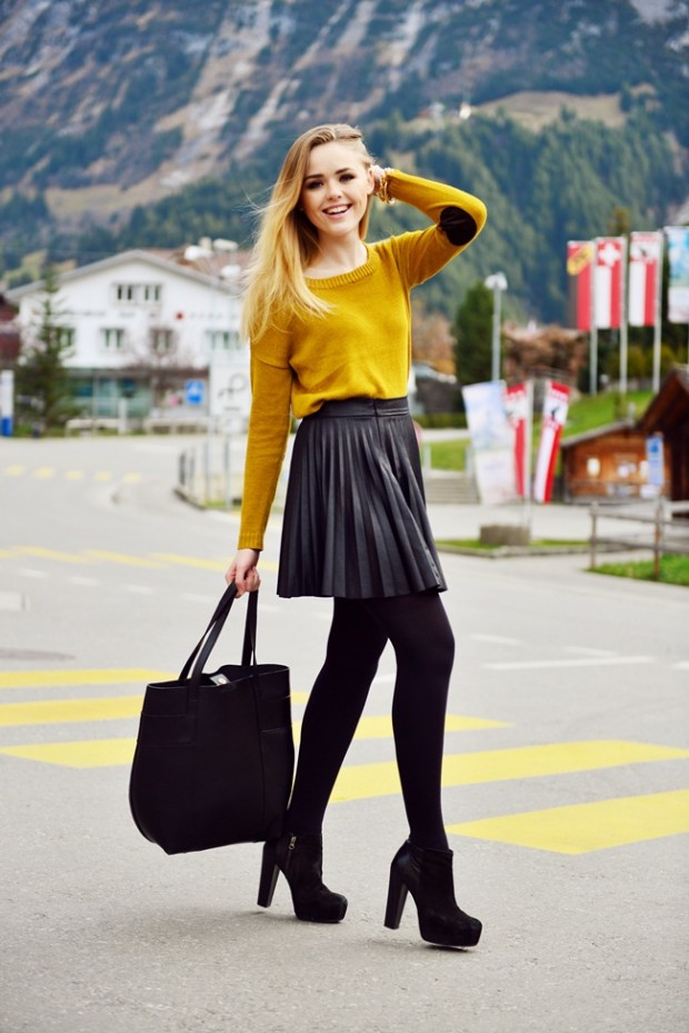 21 Stylish Fall Street Style Outfit Ideas (8)