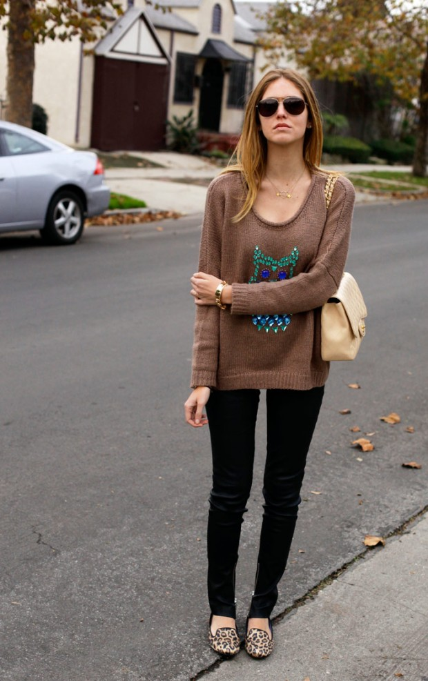 21 Stylish Fall Street Style Outfit Ideas (9)