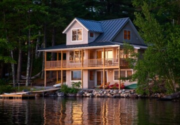 20 Amazing Lake Houses - lake house
