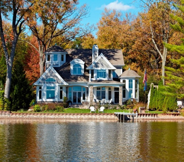20 amazing lake houses style motivation for Amazing homes tumblr