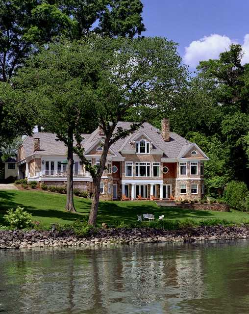 20 amazing lake houses style motivation for Amazing beautiful houses