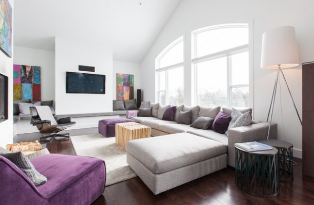 22 Amazing Living Room Design Ideas in Modern Style (2)
