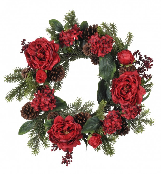 22 Beautiful Christmas Wreaths Designs (1)
