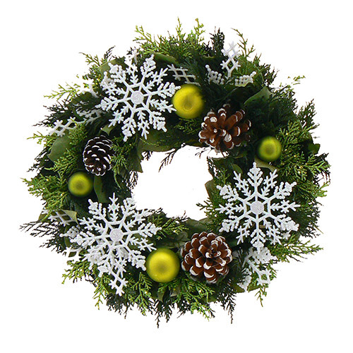 22 Beautiful Christmas Wreaths Designs (12)