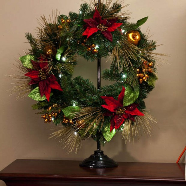 22 Beautiful Christmas Wreaths Designs (18)