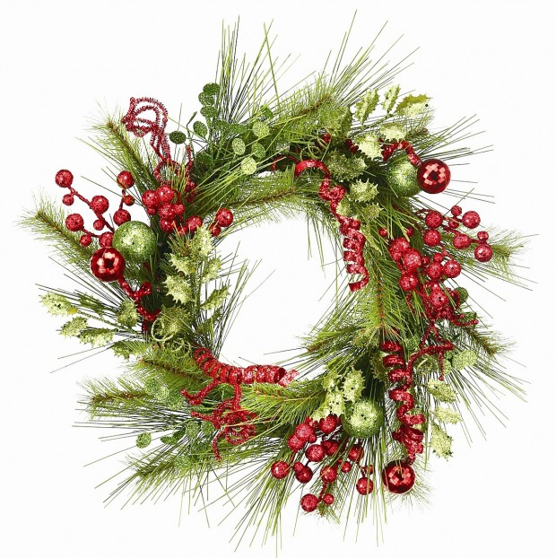 22 Beautiful Christmas Wreaths Designs