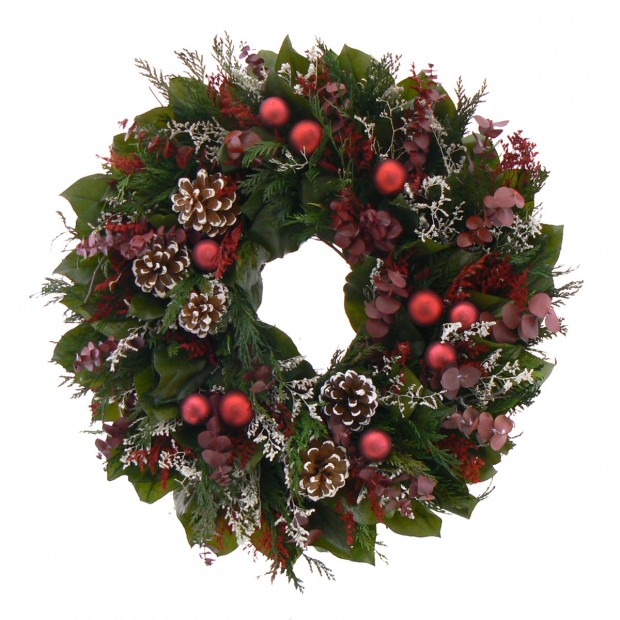 22 Beautiful Christmas Wreaths Designs (22)