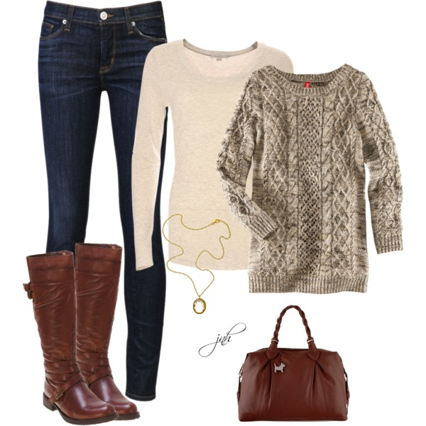 20 Cozy Combinations for Cold Days
