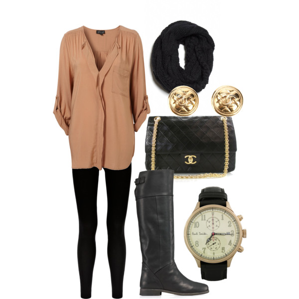 22 Cozy Combinations for Cold Days (17)