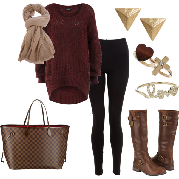 22 Cozy Combinations for Cold Days (21)