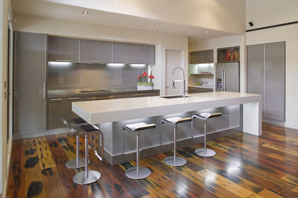 20 great kitchen island design ideas in modern style for Great kitchen remodel ideas