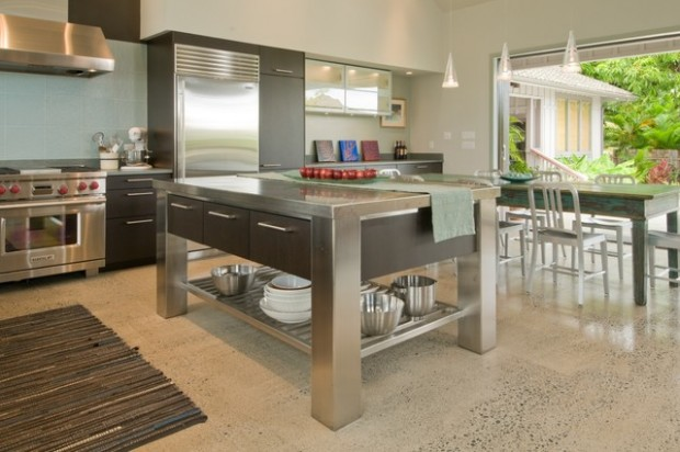 20 great kitchen island design ideas in modern style for Great kitchen design ideas